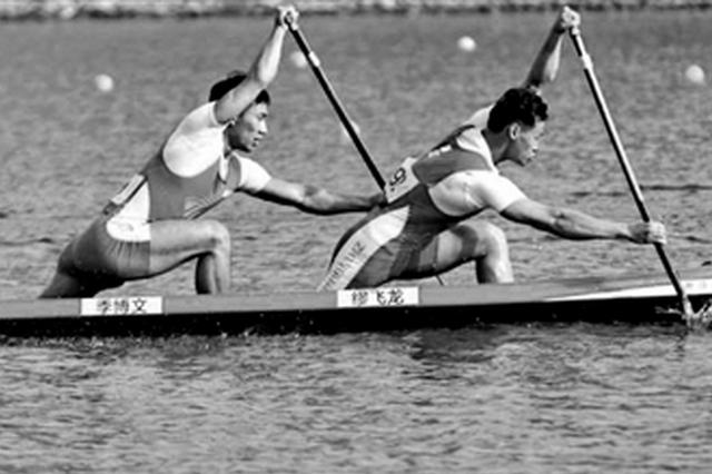 十四运会皮划艇(静水)项目杨凌开赛 共设置14个项目