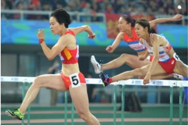 福建选手林雨薇夺得十四运会田径女子100米栏冠军