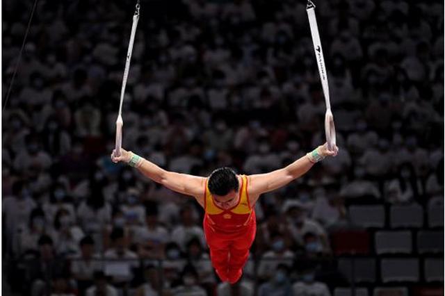 奥运冠军刘洋卫冕全运会体操男子吊环冠军