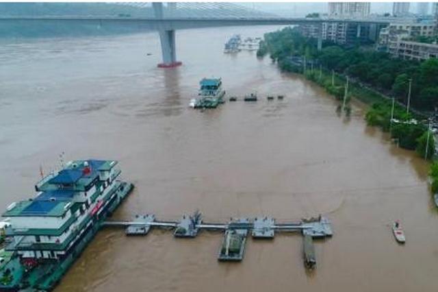 受强降雨影响 陕西省27条河流35站出现洪峰