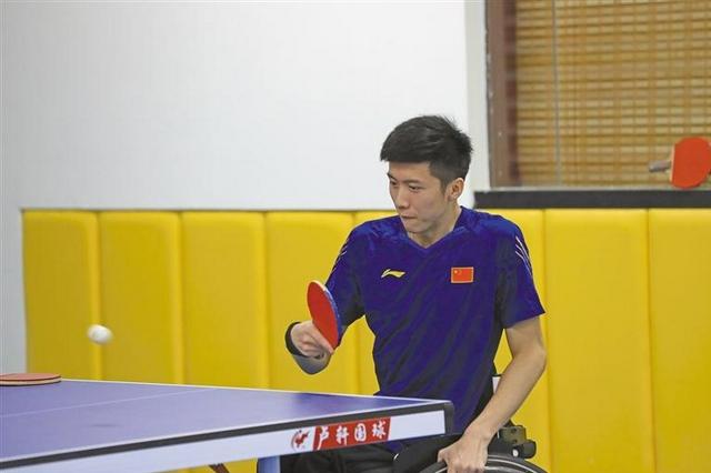 拼搏成就梦想——走进陕西省残疾人乒乓球队