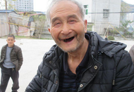 紫阳县敬老院里笑声多