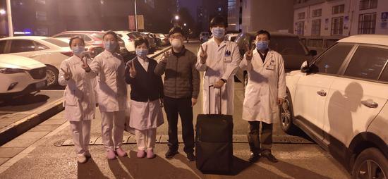 刚刚!西安交大一附院第三例新冠肺炎确诊患者治愈出院