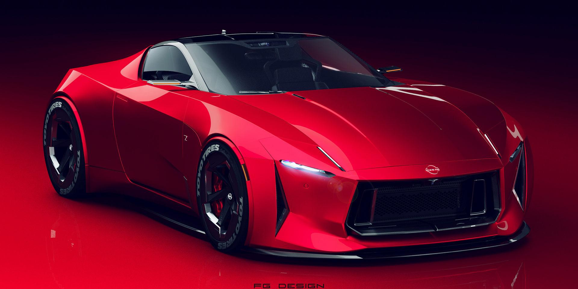 外观具有前瞻 日产全新Z跑车设计图发布
