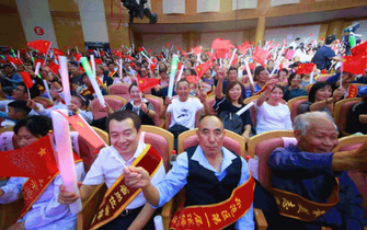 杨凌新中国成立70周年文艺晚会燃爆了