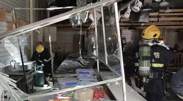 宝鸡一饮食店闪爆致6人受伤