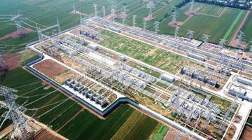 西安北750千伏变电站正式投运
