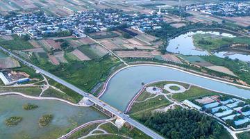 陕西:冶峪河上的新风光