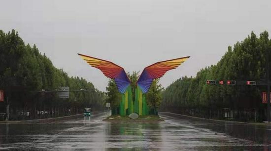 西咸新区沣西新城海绵城市成效显著