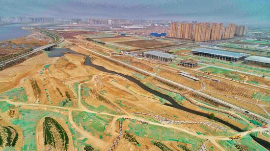 """沣西新城再添旅游休闲""""打卡地"""" 新渭沙湿地公园免费开放"""