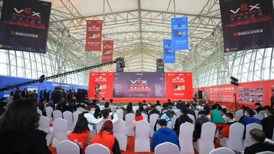 VEX机器人亚洲公开赛在泾河新城开幕