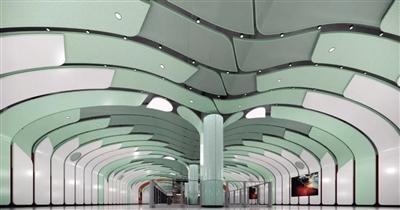 西安地铁1号线三期车站装修设计方案邀你投票