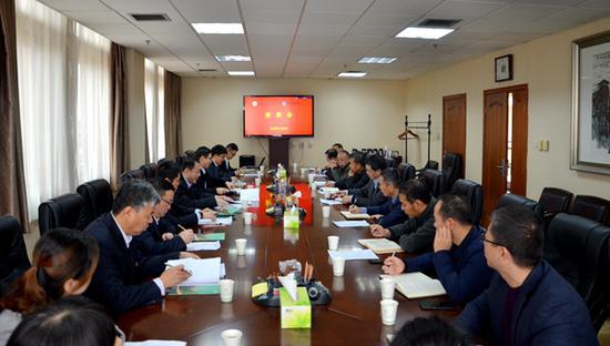 中农银行陕西分行副行长段庆到西农大校洽谈合
