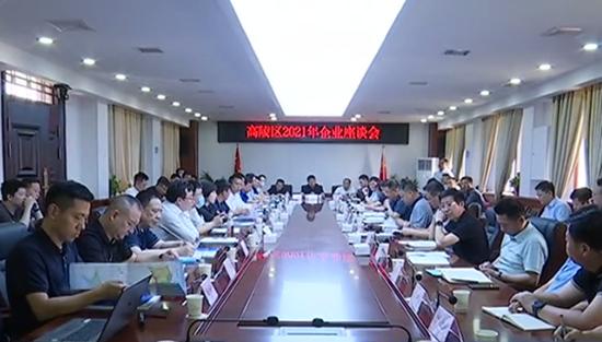 西安高陵区召开2021年企业座谈会