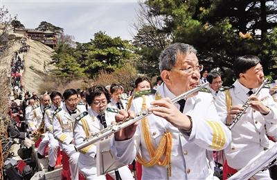 华山云端上的交响音乐会