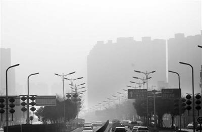 今天关中有霾陕南有雨雪 全省局地强浓雾