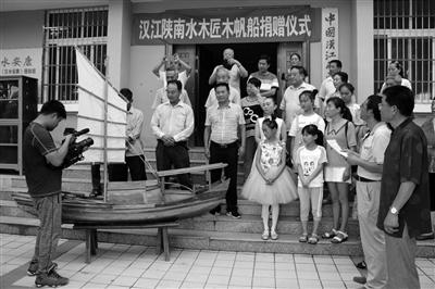 旬阳再现木帆船制作工艺 制作过程曾被央视记录