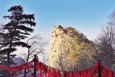 沿連霍高速賞秦嶺兩大名山——華山和太白山