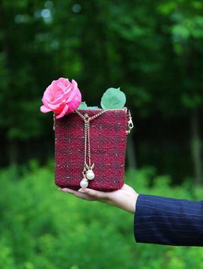 地产营销女爱做包包 两年做了100多个