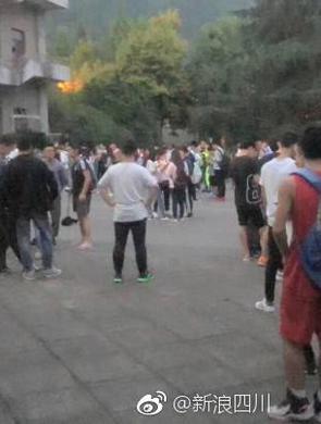 直击陕西汉中5.3级地震