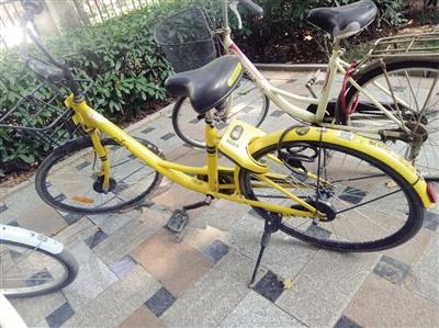 共享单车被加上私锁