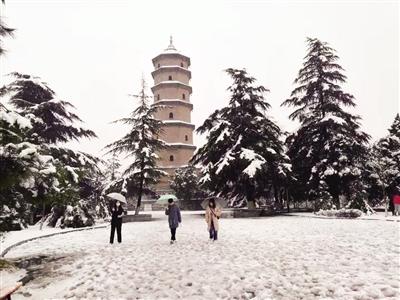 牛年第一场雪来了 陕西省多地今日雨雪持续
