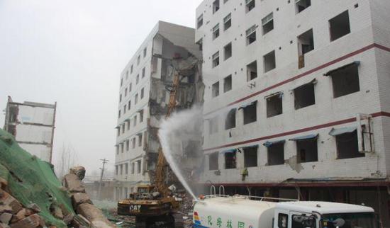 西安鱼化寨启动宅基地拆除 未来打造国际化商住社区