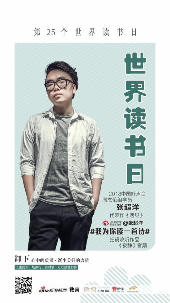 张超洋:2018中国好声音周杰伦组学员,代表作《遇见》