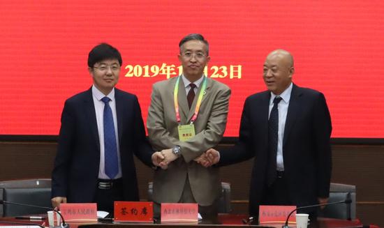 """宝鸡、西农、杨凌""""两地三方""""将深化农业科技战略合作"""