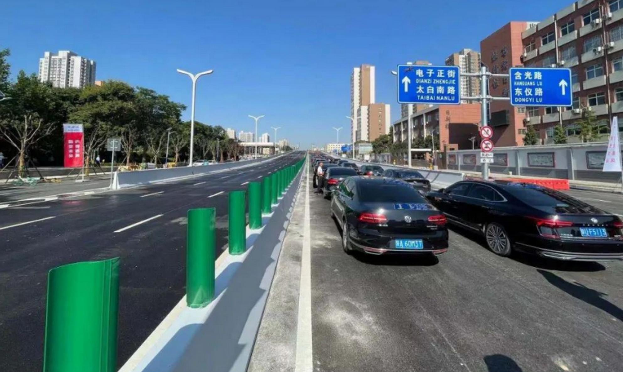 西安2.5环南段正式通车!串联高新、小寨两大商圈!