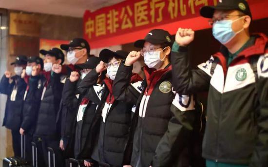 最美逆行丨中国非公医疗绿城医疗队出征武汉!