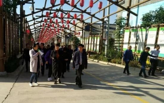 德清县、永寿县到蓝田考察学习美丽乡村·文明家园建设工作