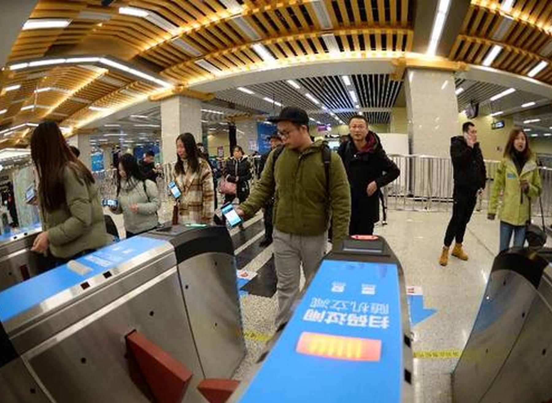 西安地铁开挂了今日起所有站点支持刷支付宝乘车、有蚂蚁森林能量