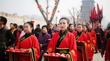 汉城湖春节庙会灯会启动