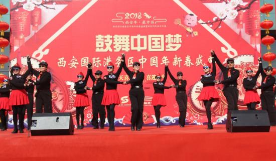西安年·最中国 |国际港务区广场舞大赛海选盛大启幕