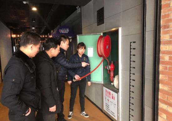 """碑林区文体局开展""""西安年·最中国""""安全生产专项检查"""