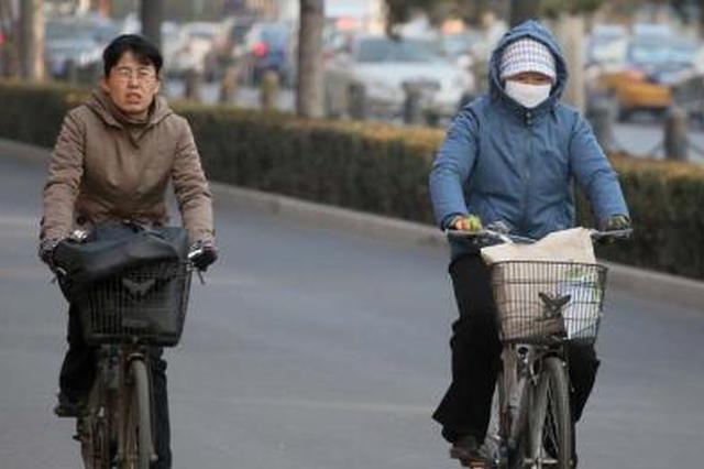 今明两日陕西省有降温过程 气温下降4-6度