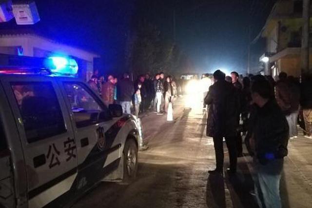 洋县龙亭镇发生重大交通事故 致一人当场死亡