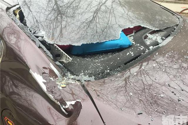 一夜间5辆车被砸并非图财是为啥? 公安介入调查