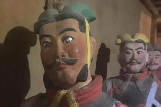 团伙推销山寨兵马俑被秒抓 旅游服务让游客免受委屈