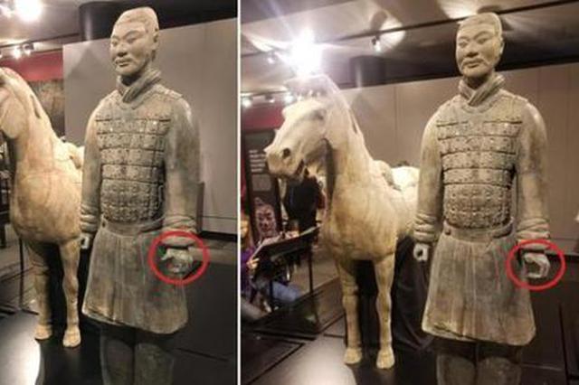 兵马俑在美展出拇指被盗 陕文物部门要求确保文物安全