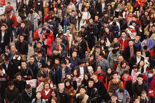 陕西铁路昨日迎来客流高峰 加开列车65列