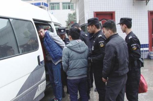 咸阳警方打掉涉赌团伙 赌局组织者自曝十赌九骗