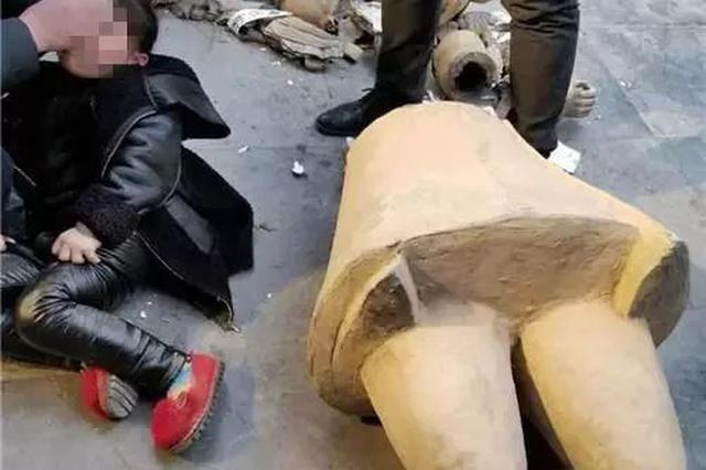 5岁女童西安游玩被雕塑砸伤 旅游部门:积极善后