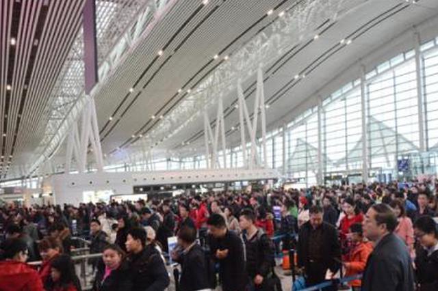 西安机场单日旅客吞吐量创历史新高 每天12万人打飞的