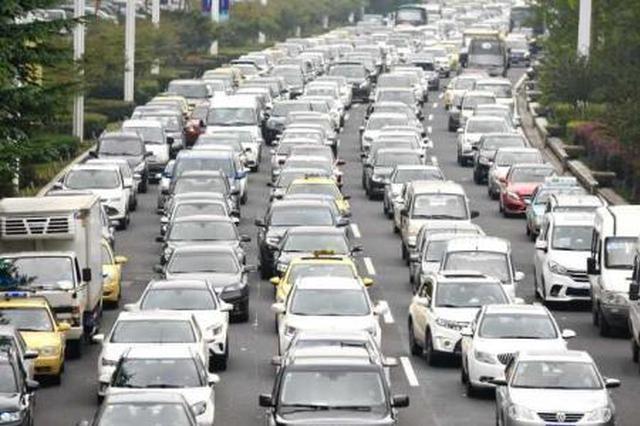 今天周六要上班 开车出门不限行 这些路段流量大