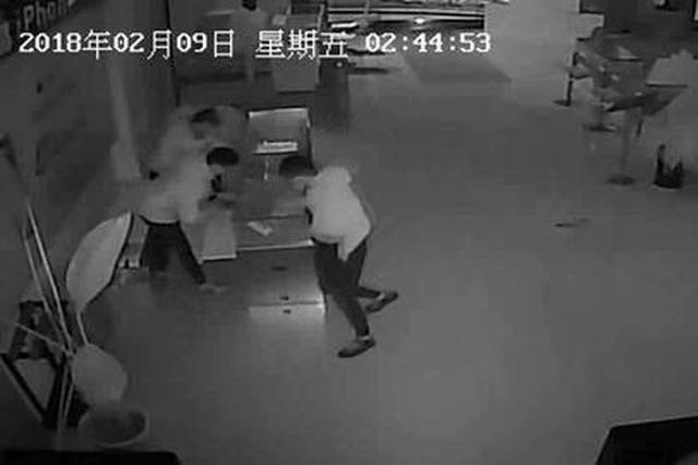 铜川三名少年一夜之间横扫11家店面 盗窃13部手机