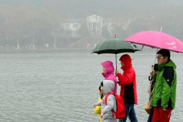 17日陕迎阴雨天降温6到8℃ 陕北将现浮尘扬沙天气