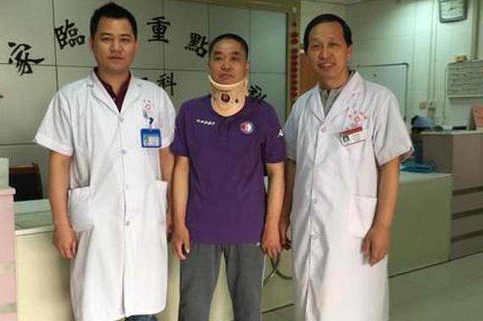 病人的康复是医生最大的欣慰