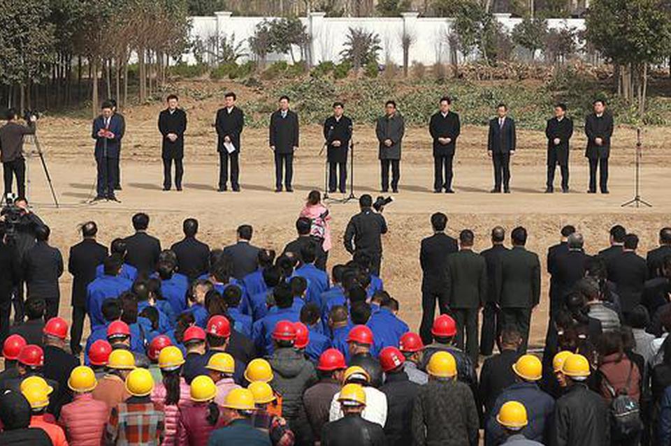 咸阳2018年项目建设攻坚战打响